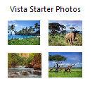 Vista Starter Backgrounds