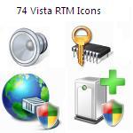 74 Vista RTM Icons by Joshu4