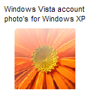 Vista account photo's for XP by Joshu4