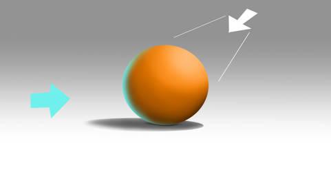 Sphere shading test