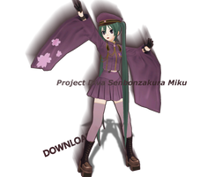.:MMD:. Project Diva Senbonzakura Miku [DOWNLOAD] by Len11999