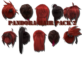 .:MMD:. [MVS] Panora Hair Pack 2 {DL} by Len11999