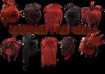.:MMD:. [MVS] Panora Hair Pack 2 {DL}