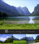 Mountains Pack I - Dolomites by Grinmir-stock