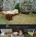 Stock pack - Medieval camp by Grinmir-stock