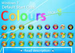 Colours : A colored Windows 7 default start orb