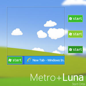 Metro Start Orb Windows 7 Related Keywords & Suggestions