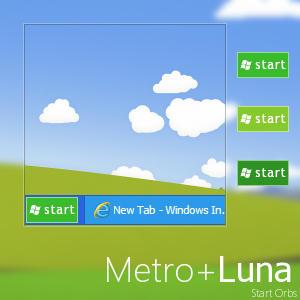 Тема оформления Windows 8: Metro + Luna (by Giro54)