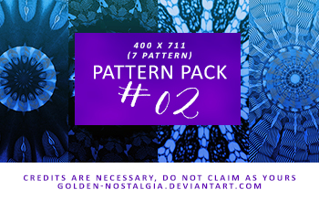Pattern Pack #02 by golden-nostalgia