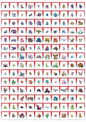 Pokemons4! by RHOMBICS
