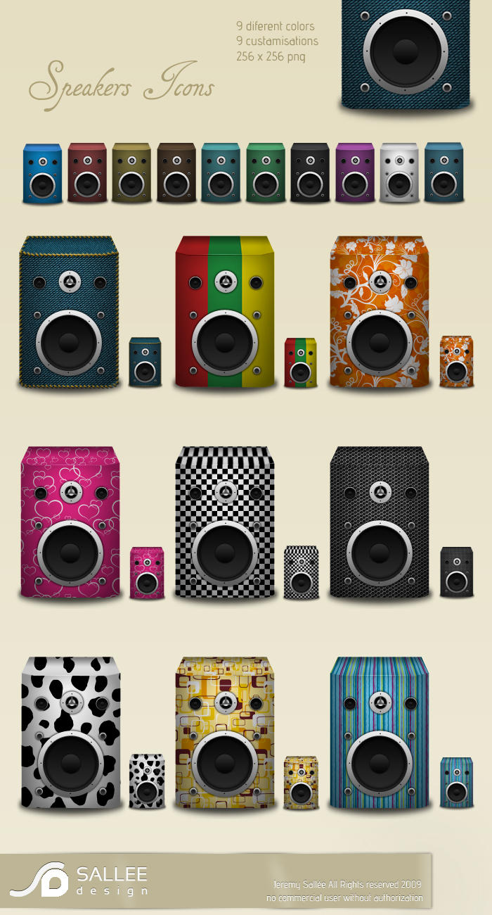speaker icons by LeMex