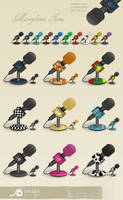 mic icons by LeMex