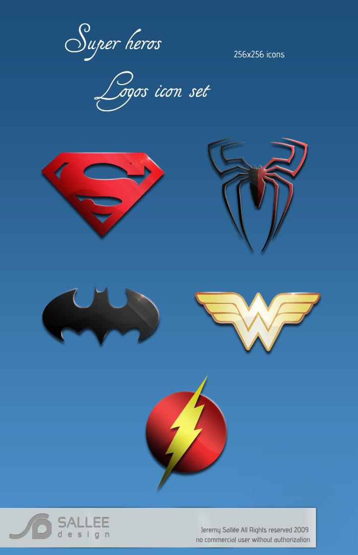superheros logos by LeMex