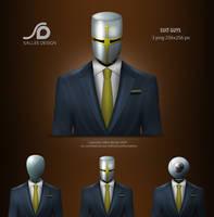 suit guys by LeMex
