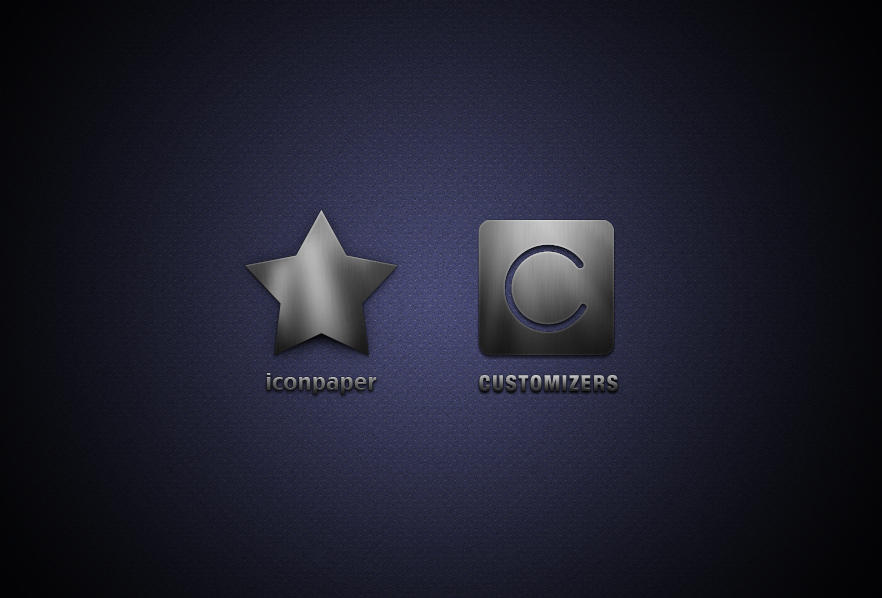 customizers iconpaper logos by LeMex