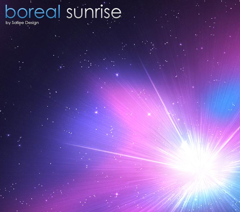 boreal sunrise by LeMex