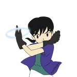 Miroku the Digi-tamer by AyosDesignz