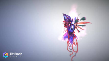 VR Art Alien Flowers