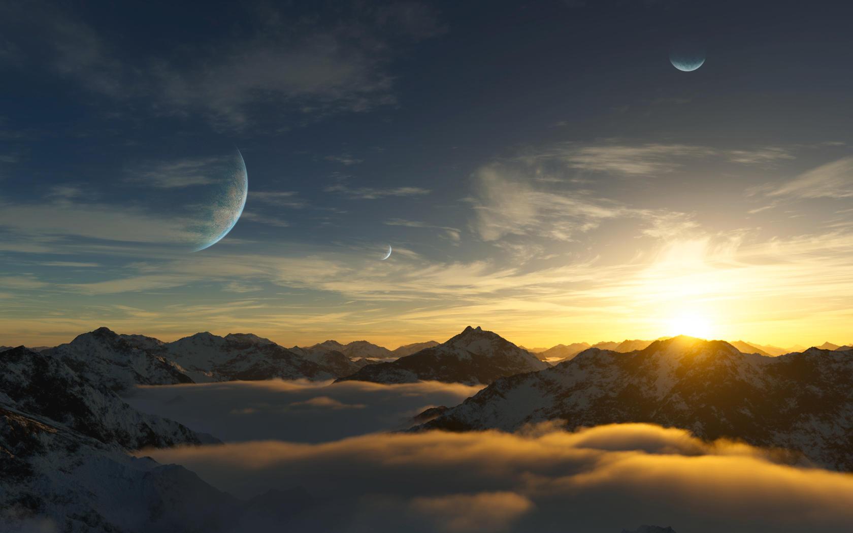 Gliese 581 d by DarinK on DeviantArt