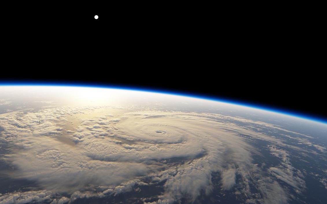 Planetary Hurricane - Stock by DarinK