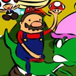 Adventure Time in Mushroom Kingdom