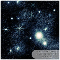 Stars Brushes by GieGie