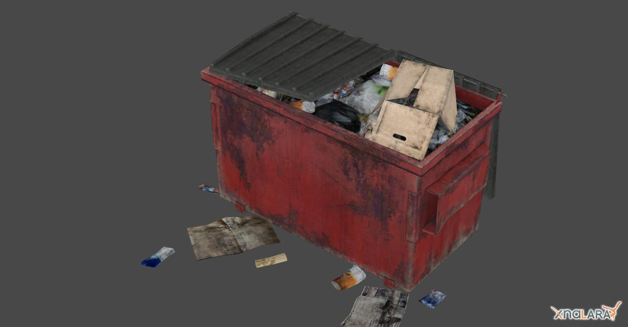 ORC GARBAGE CONTAINER by Oo-FiL-oO