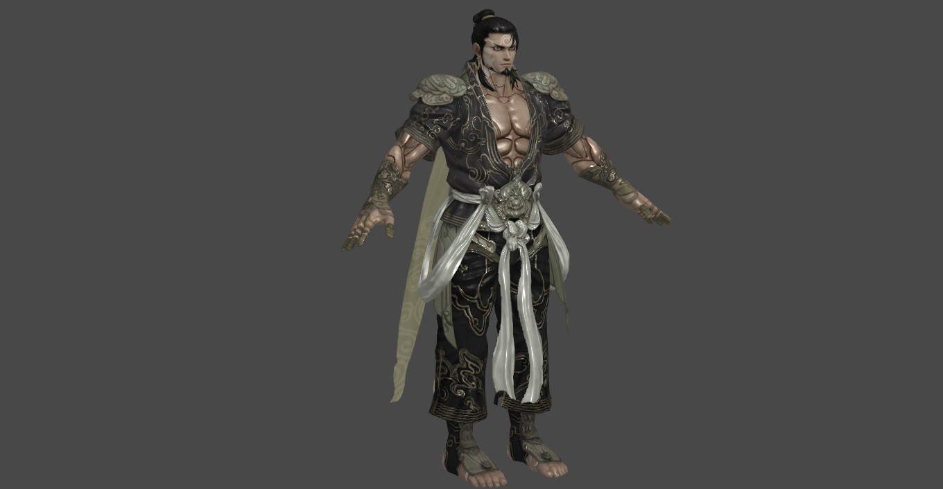Asura 39 s wrath yasha ps3 version by oo fil oo on deviantart Online 3d modeling