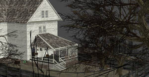 SH ALEX'S HOUSE BACK GARDEN by Oo-FiL-oO