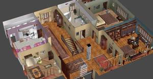 HOUSE UPPER FLOOR