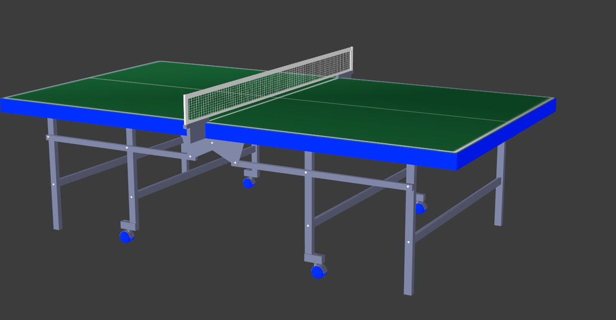 Simple tennis table by oo fil oo on deviantart for Table th 00 02