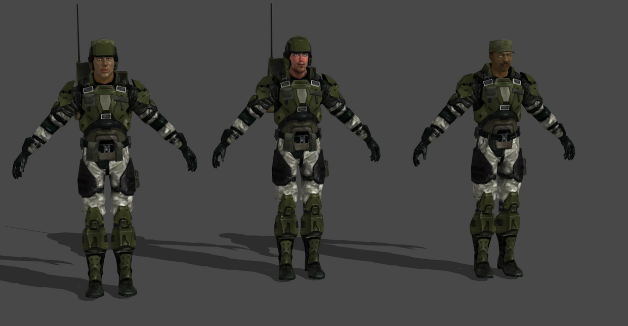 Halo 3 Marine Model Related Keywords & Suggestions - Halo 3