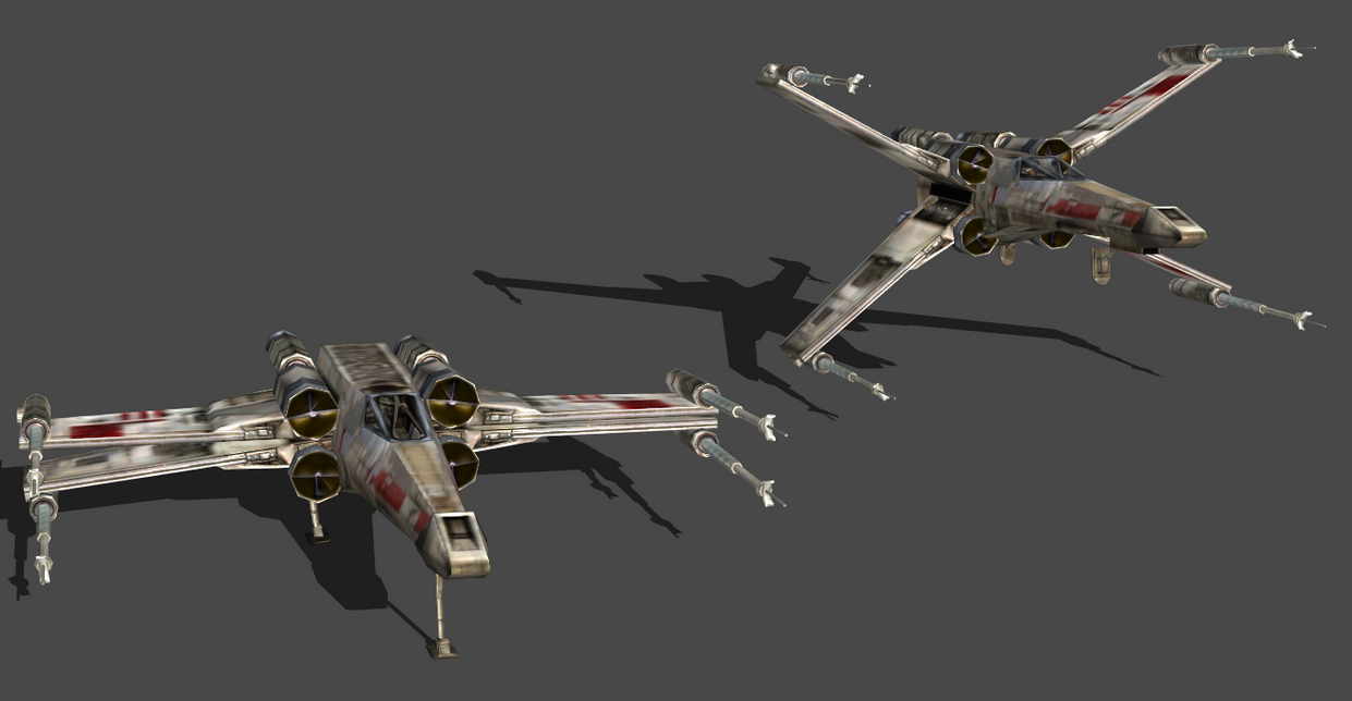 X-WING ORIGINAL BONES by Oo-FiL-oO