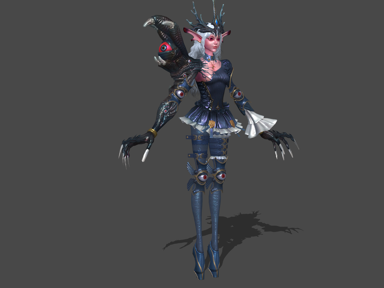 Asker online boss carryagnes by oo fil oo on deviantart Online 3d modeling