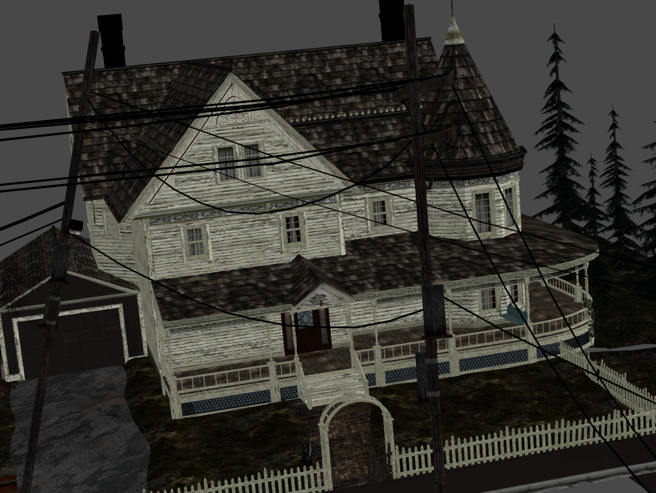 ... SILENT HILL   HOME SWEET HOME EXTERIOR By Oo FiL OO