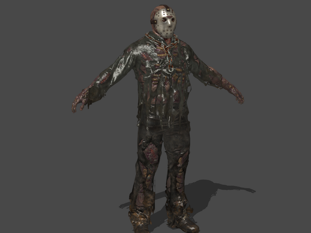 FRIDAY THE 13th: THE GAME - JASON VOORHEES by Oo-FiL-oO on DeviantArt