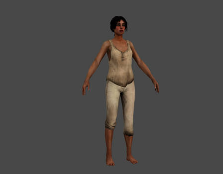 SYBERIA 3 - KATE WALKER HOSPITAL OUTFIT