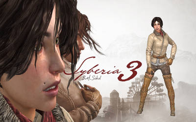 SYBERIA 3 - KATE WALKER NORMAL OUTFIT RIGGED