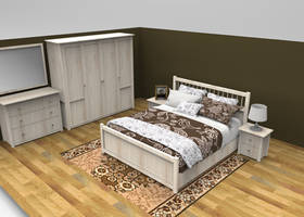 SIMPLE BEDROOM by Oo-FiL-oO