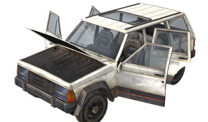 TLOU REMASTERED - TOMMY SUV