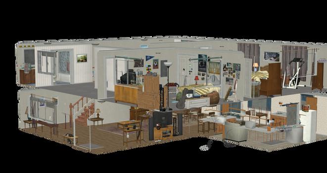 TLOU REMASTERED- JOEL HOUSE INTERIORS FULL