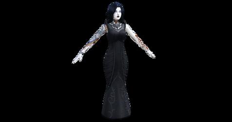 S4 - CUSTOM VAMPIRE LADY