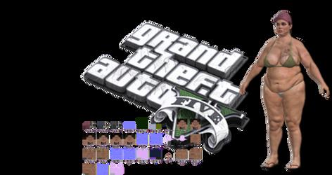 GTA V -  FAT CULT WHITE IN GAME BONES