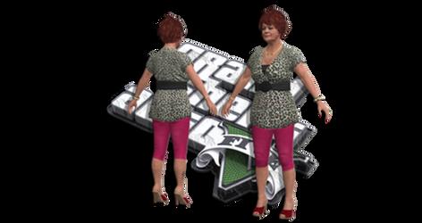 GTA V -  MRS PHILLIPS IN GAME BONES