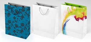 Gift bag mock-up by JasterM