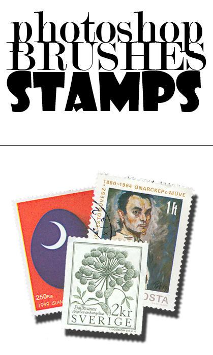 Stamp Brushes by narenji