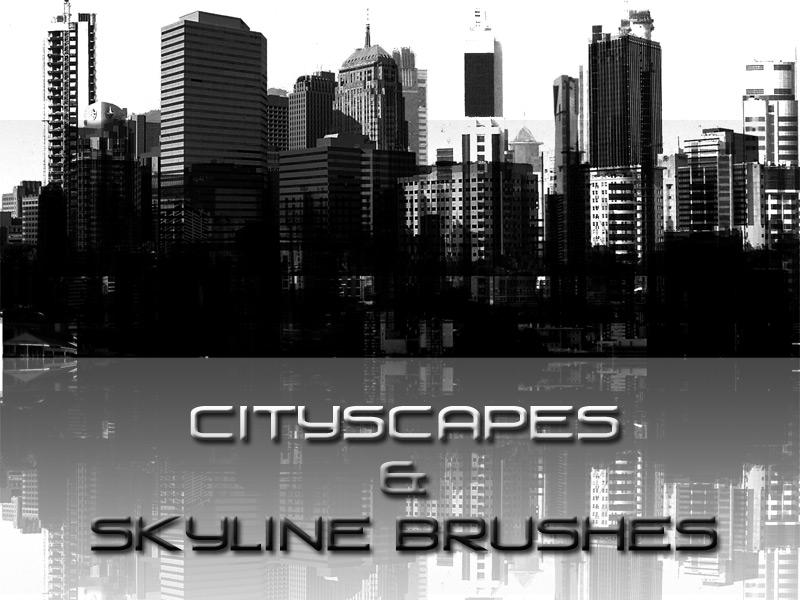 Cityscape and skyline brushes by cLuddy