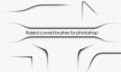 Curved shadow brushes