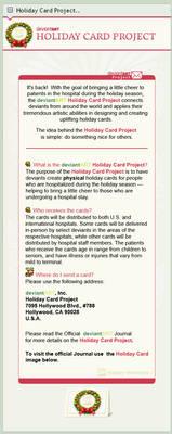 Holiday Card Project Custom Box