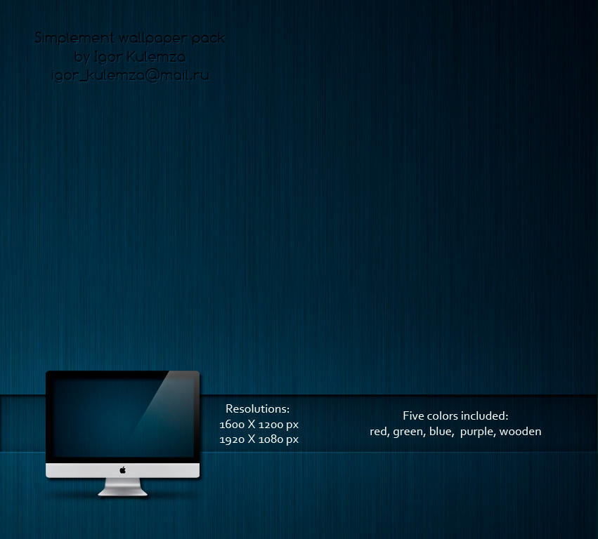 Simplement Wallpaper Pack by igorkulemza